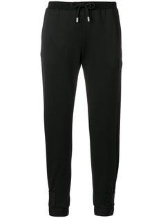 спортивные брюки со шнурком на талии Versus
