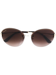солнцезащитные очки в массивной оправе Bulgari