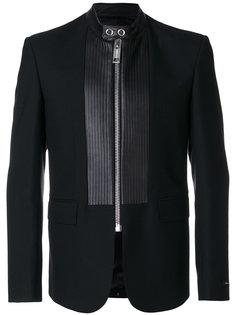 пиджак с панельным дизайном на молнии Les Hommes