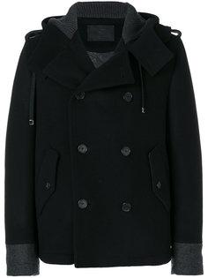 двубортная куртка с капюшоном Dolce & Gabbana
