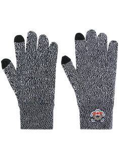 перчатки с нашивкой в виде тигра Kenzo