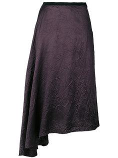 асимметричная юбка с драпировкой  Maison Margiela