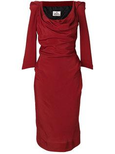 приталенное платье с рукавами три-четверти  Vivienne Westwood