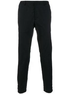классические зауженные брюки Prada