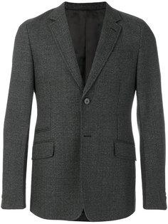 пиджак с карманами с клапанами Prada