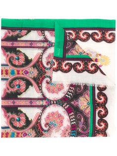 шарф с вышивкой Etro