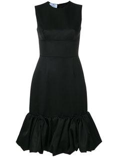 расклешенное платье  Prada