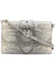 сумка-конверт с украшением из стекла Miu Miu