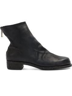 ботинки с эффектом потертости на подошве Guidi