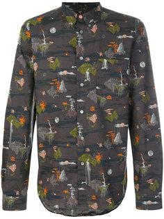 приталенная рубашка с вышивкой Ps By Paul Smith