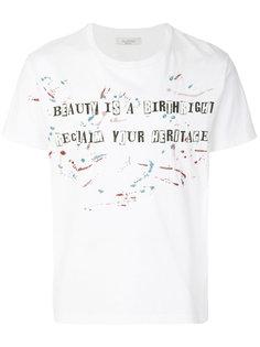 футболка с графическим принтом Valentino