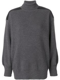 свитер с высоким воротником с ребристой фактурой Stella McCartney