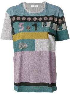 футболка с геометрическим принтом Valentino