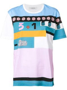 футболка с принтом Counting Valentino