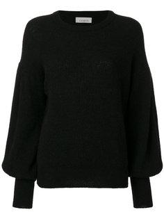 свитер с ребристой фактурой Laneus
