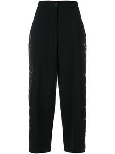 укороченные брюки с высокой талией Vivetta