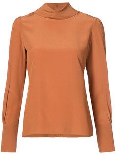 блузка с высокой горловиной Chloé