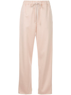 укороченные брюки со шнурком  Astraet