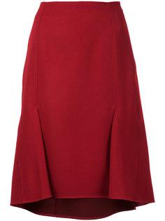 юбка с двумя складками  Astraet