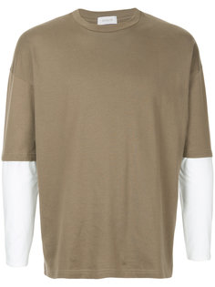 футболка с контрастными рукавами En Route