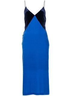 """платье дизайна """"колор-блок"""" Dion Lee"""
