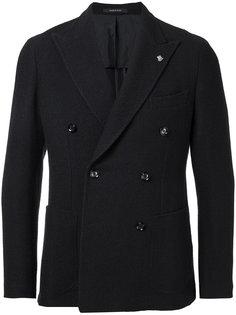 двубортный вязаный пиджак Tagliatore