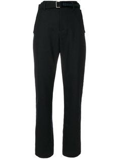 укороченные строгие брюки Sacai