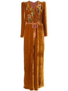 комбинезон с вышивкой  Vivetta