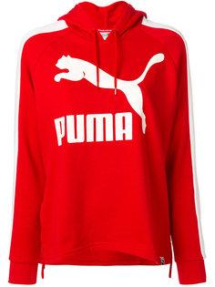 толстовка с капюшоном и принтом логотипа Puma