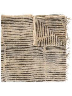 шарф в полоску Uma Wang
