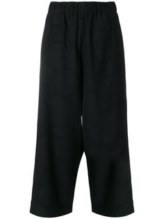 укороченные брюки свободного кроя Uma Wang