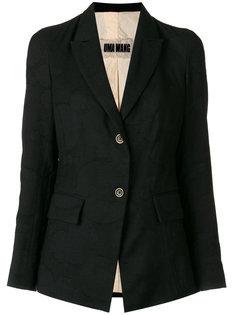 пиджак с застежкой на две пуговицы Uma Wang