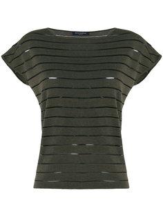 полосатая футболка Piazza Sempione