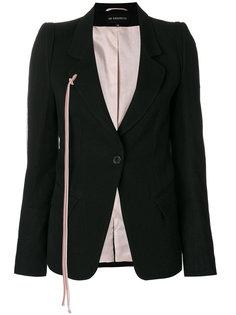 пиджак с застежкой на одну пуговицу Ann Demeulemeester