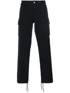 брюки-карго с манжетами на шнурке Maison Margiela