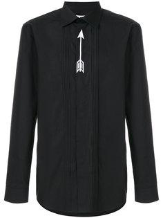 рубашка с вышивкой стрелы Givenchy