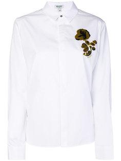 рубашка с воротником Kenzo