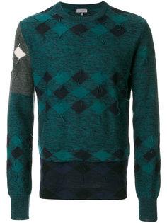 свитер в клетку Lanvin