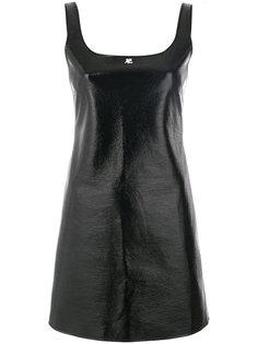 блестящее платье Courrèges