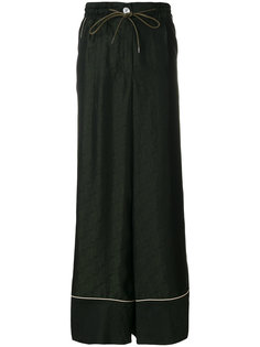брюк-палаццо с кантом  Sacai