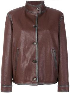 куртка с воротником-стойкой Prada