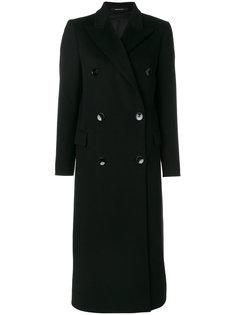 длинное двубортное пальто Tagliatore