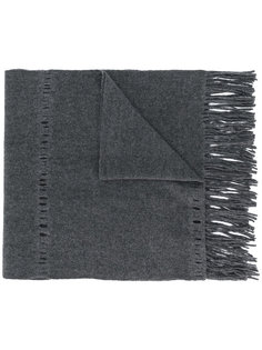 трикотажный шарф с бахромой Faliero Sarti