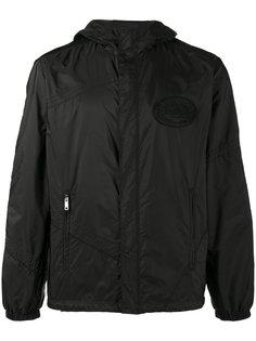 куртка с капюшоном на молнии Prada