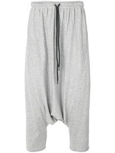 брюки с заниженной проймой Alchemy