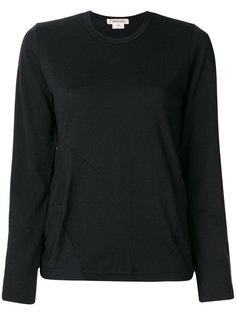 трикотажный приталенный свитер  Comme Des Garçons