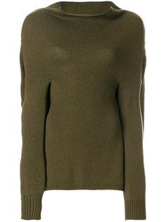 свитер с широким высоким воротником Marni
