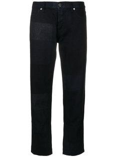 укороченные джинсы с панельным дизайном Marni