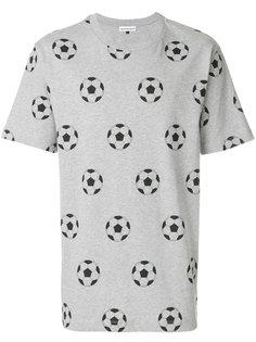 футболка с принтом мяча Gosha Rubchinskiy ГОША РУБЧИНСКИЙ