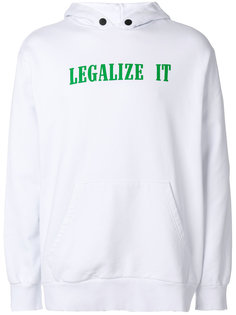 толстовка Legalize It Palm Angels